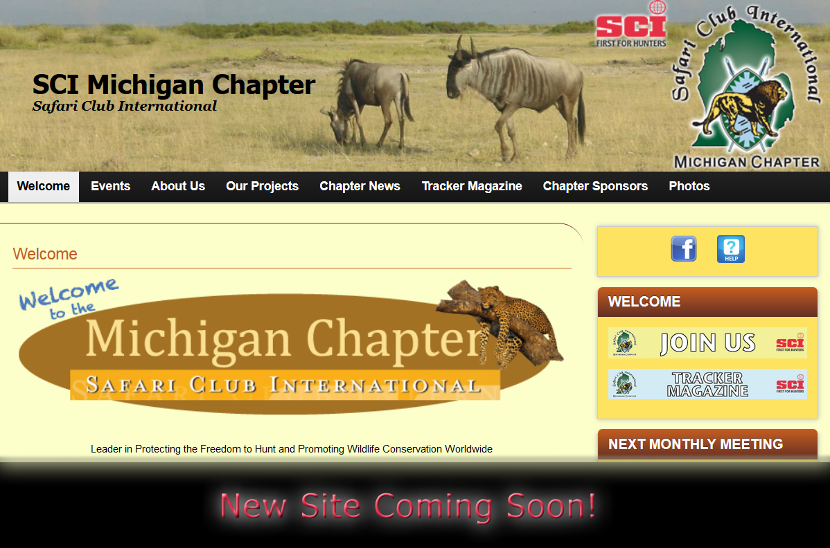 SCI Michigan Chapter - New Site Coming Soon!